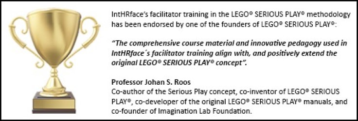 Pokal, udtalelse - LEGO Serious Play - Complete Certification