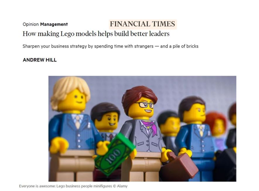 How playing with LEGO® build better leaders